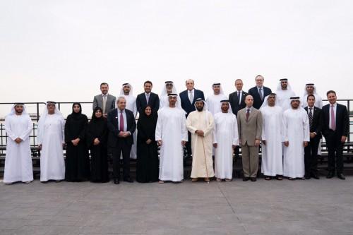 """بن زايد يستقبل شركاء الداعمين لبرامج """"مؤسسة الإمارات لتنمية الشباب"""""""