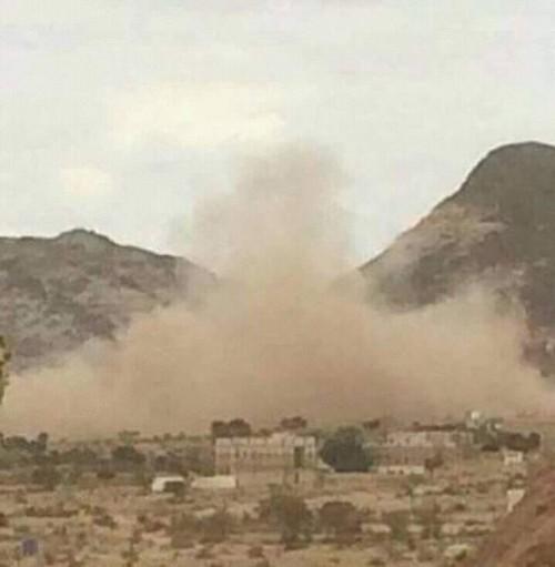 استشهاد فتاة عشرينية في قصف حوثي على منطقة هجار شمال الضالع
