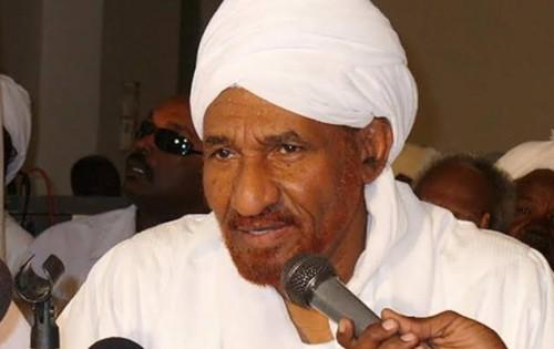 زعيم المعارضة السودانية:الحكم الانتقالي يجب أن يكون مدنيا