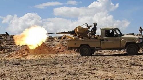 مصرع وإصابة 60 حوثيًا في جبهة العود شمال الضالع