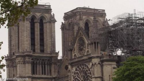 فرنسا.. نقص الأيدي العاملة تعيق ترميم كتدرائية نوتردام