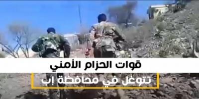 الحزام الأمني يتوغل في إب وشمال الضالع والمليشيات تجر أذناب الهزيمة (فيديوجرافيك)