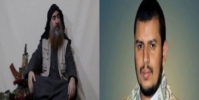 إعلامي يكشف سر خطير عن خطابات الحوثي والبغدادي