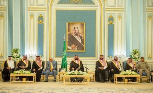 تفاصيل لقاء ولي العهد السعودي برئيس وأعضاء مجلس النواب اليمني