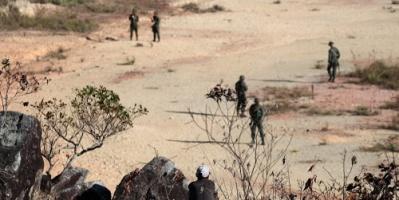 مادورو: إصابة 5 عسكريين خلال أعمال الشغب في كاراكاس