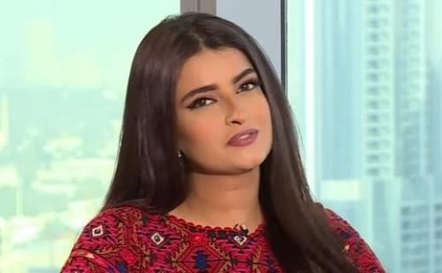 الإعلامية الأردنية علا الفارس توجه رسالة للشعب الفلسطيني
