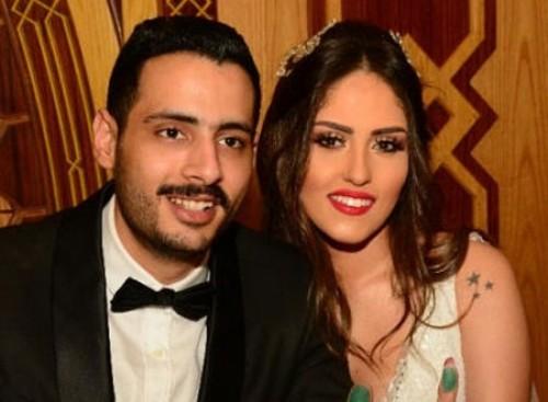 نجم مسرح مصر يبعث رسالة لزوجته (صورة)
