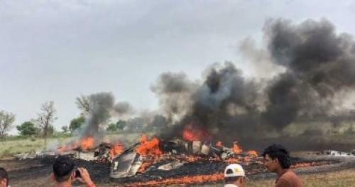سقوط مروحية عسكرية بالقرب من مطار قمار بالجزائر