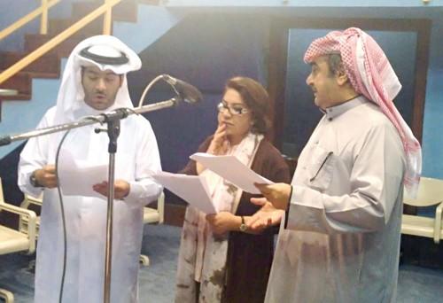 """إذاعة الكويت تنتهي من تسجيل أعمال رمضان بمسلسل """" روس القرعان """""""