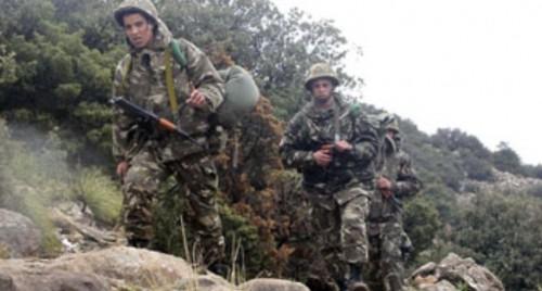 الجزائر: ظبط 24 عنصر داعم للإرهاب وتدمير  34 مخبأ لهم