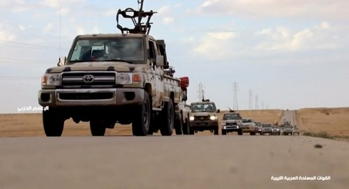 """الجيش الليبي يسيطر على """"اسبيعة"""" جنوب طرابلس"""