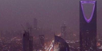 الرياض تشهد أمطارًا غزيرة حتى مطلع الفجر