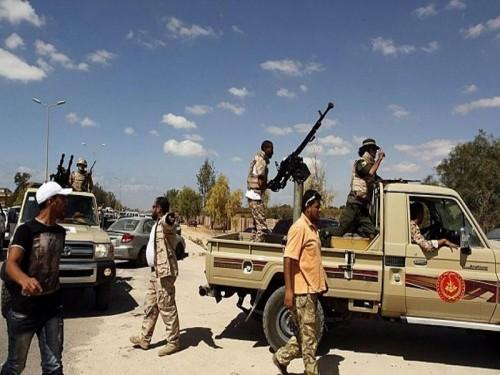 """هجوم مسلح على مطار """" سبها """" الليبي من قبل موالين لداعش"""