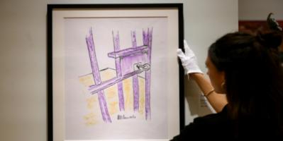 بيع لوحة لنيلسون مانديلا بـ112 ألف دولار في مزاد بنيويورك