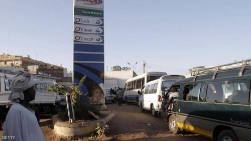 أزمة وقود وسيولة في السودان