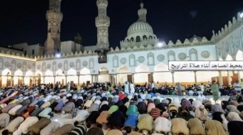 تكثيف مروري بمحيط المساجد أثناء صلاة التراويح