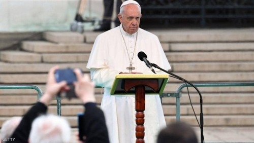 بابا الفاتيكان يدعو زعماء أوروبا لمواجهة تفاوت الثروات وانخفاض معدل الإنجاب