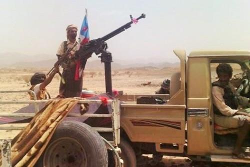 شاهد.. انهيارات في صفوف الحوثيين على حدود الضالع