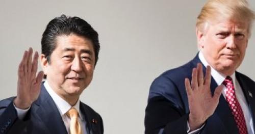 اتصال هاتفي بين رئيس وزراء اليابان وترامب بشأن قذائف كوريا الشمالية