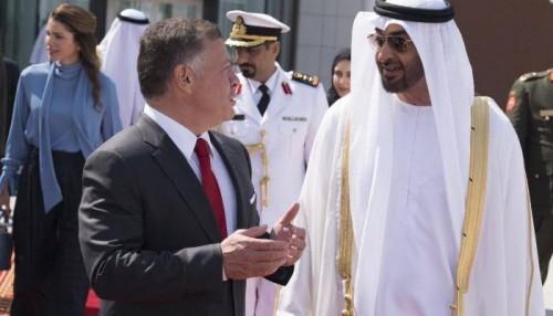 محمد بن زايد يتبادل التهاني مع ملك الأردن بمناسبة حلول شهر رمضان
