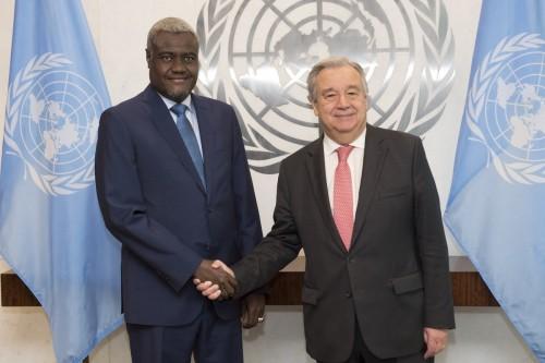 الأمم المتحدة والاتحاد الأفريقي يدعوان لوقف إطلاق النار بليبيا