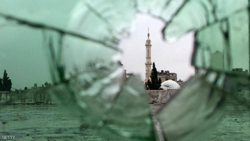 السلطات السورية تفكك سيارة ملغمة بقلب مدينة سكنبة بحمص