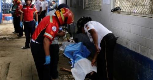 ارتفاع حصيلة ضحايا إطلاق نار داخل أحد السجون فى جواتيمالا
