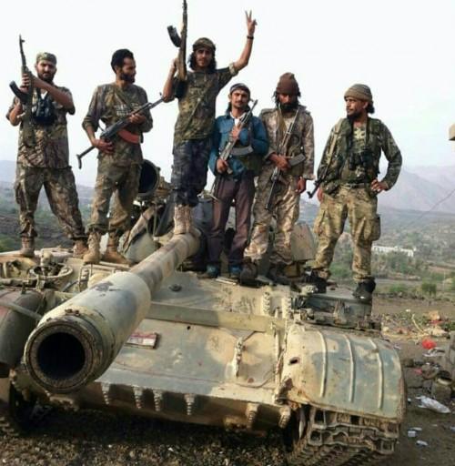 صحفي: جبهات القوات الجنوبية بشمال الضالع متماسكة