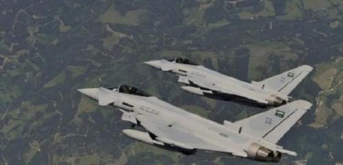 تدمير آليات عسكرية حوثية بغارات جوية في صعدة