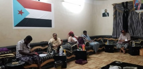 تنفيذية الانتقالي الجنوبي بالمهرة تعقد اجتماعها الدوري