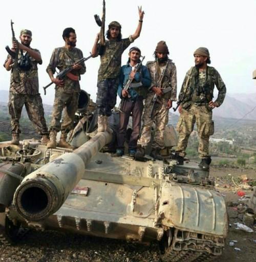 """المقاومة الجنوبية """" تقطع أنفاس """" مليشيا الحوثي في الضالع (ملف)"""