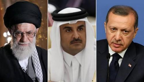 أمجد طه: إيران مع تركيا تُعتبر العمود الفقري لنظام تميم