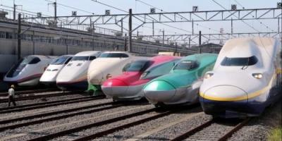 """اليابان تكشف عن أسرع قطار """" طلقة """" بالعالم (فيديو)"""