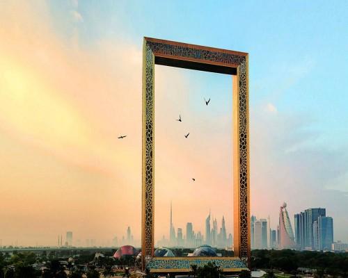 برواز دبي يدخل موسوعة غينيس