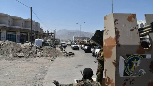 بعد دحرها لمليشيات الحوثي.. القوات الجنوبيِّة تمشط مدينة قعطبة لتأمينها