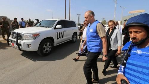 عاجل.. الفريقي الحكومي يعلق اجتماعاته مع بعثة مراقبي الأمم المتحدة في الحديدة