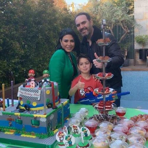 هكذا احتفل وائل جسار بعيد ميلاد ابنه صور