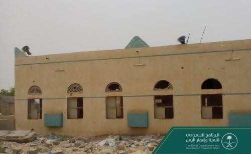 البرنامج السعودي يسعى للانتهاء من ترميم جامع حيران قبل عيد الفطر