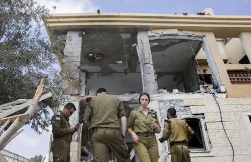 للمرة الأولى.. إسرائيل تعترف بخسائرها من صواريخ غزة