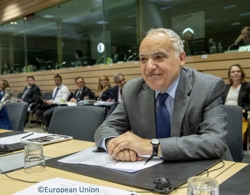 سلامة يطلع مجلس الشؤون الخارجية في الاتحاد الأوروبي على الوضع في ليبيا