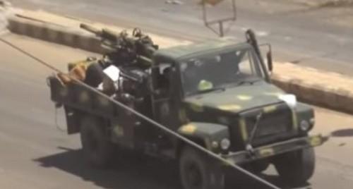 الجيش السوري: سيطرنا على الحدود الإدارية بين محافظتي حماة وإدلب