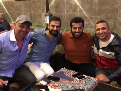تركي آل الشيخ يجتمع بأمير طعيمة وعدد من شعراء مصر لهذا السبب