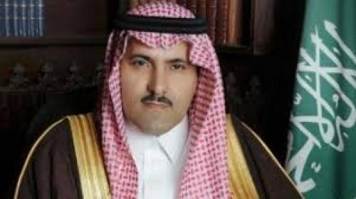 أول تعليق للسفير آل جابر على هجوم الحوثيين ضد نفط السعودية