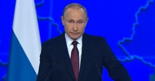 الرئيس الروسي: مهتمون باستعادة العلاقات بشكل كامل مع أمريكا