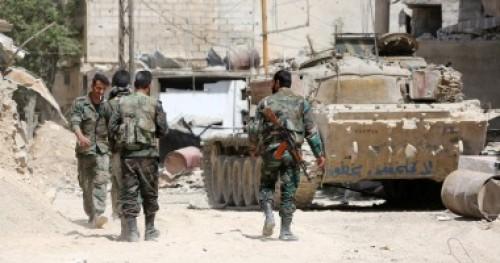 الجيش السوري يقضي على عشرات الإرهابيين بريف حماة