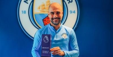 أول تعليق من جوارديولا على فوزه بجائزة أفضل مدرب بالدوري الإنجليزي