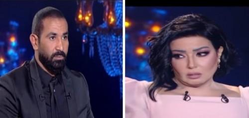 سمية الخشاب تتهم أحمد سعد بمحاولة قتلها (فيديو)