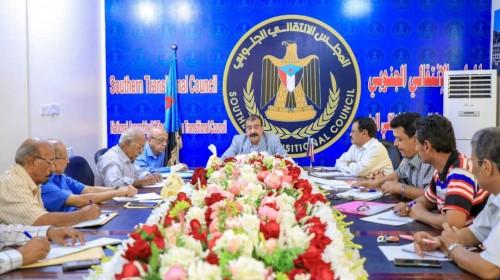 تفاصيل اجتماع بن بريك مع ممثلي هيئة الدبلوماسيين الجنوبيين