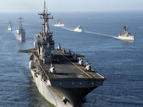 واشنطن: الصواريخ الإيرانية بالعراق سبب الحشود الأمريكية بالشرق الأوسط