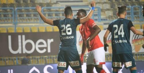 خسارة الأهلي ضد إنبي حلم الفريق البترولي للبقاء في الدورى المصرى